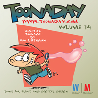 Toonaday 14 cover